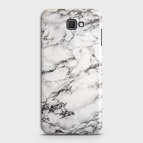 Trendy White Floor Marble Case For Samsung Galaxy J4 Core