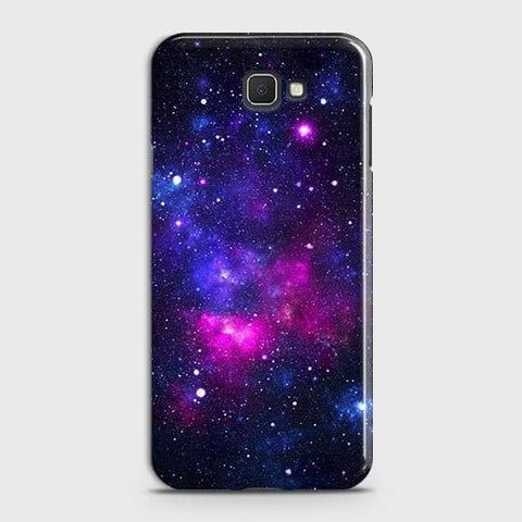 Samsung Galaxy J4 Core Cover - Dark Galaxy Stars Modern Printed Hard Case with Life Time Colors Guarantee