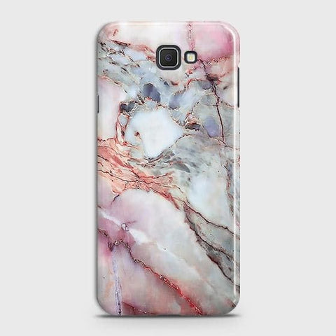 Samsung Galaxy J4 Core Cover - Violet Sky Marble Trendy Printed Hard Case with Life Time Colors Guarantee