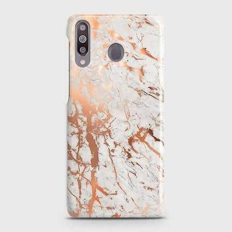3D Print in Chic Rose Gold Chrome Style Case For Samsung Galaxy M30
