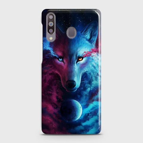 Samsung Galaxy M30 Cover - Infinity Wolf Trendy Printed Hard Case with Life Time Colors Guarantee