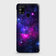 Samsung Galaxy M31 Cover - Dark Galaxy Stars Modern Printed Hard Case with Life Time Colors Guarantee