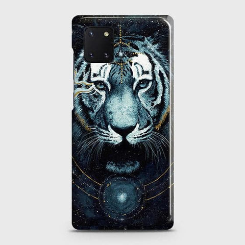 Samsung Galaxy Note 10 Lite Cover - Vintage Galaxy Tiger Printed Hard Case with Life Time Colors Guarantee