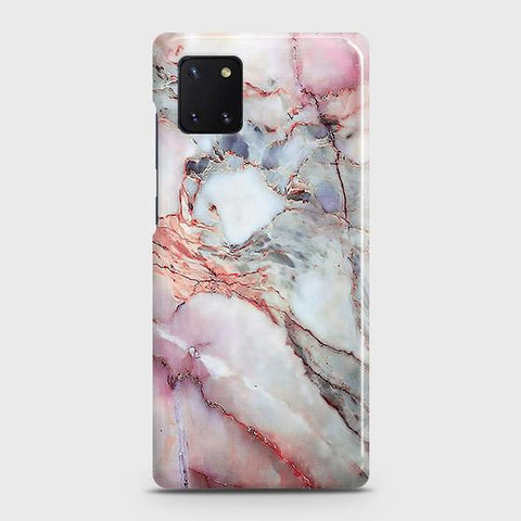 Violet Sky Marble 3D Trendy Case For Samsung Galaxy Note 10 Lite