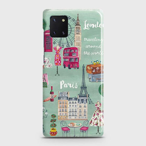 London, Paris, New York Modern Case For Samsung Galaxy Note 10 Lite
