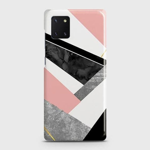 Geometric Luxe Marble Trendy Case For Samsung Galaxy Note 10 Lite