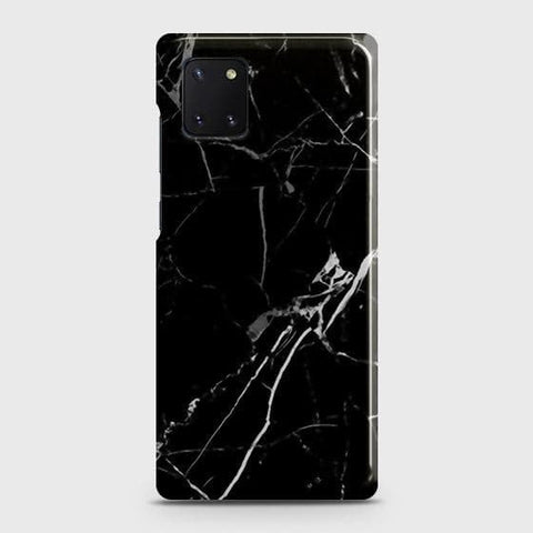 Black Modern Classic Marble Case For Samsung Galaxy Note 10 Lite