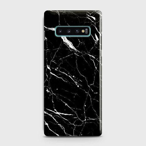 Trendy Black Marble Case For Samsung Galaxy S10 Plus