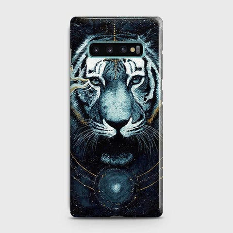 Vintage Galaxy 3D Tiger Case For Samsung Galaxy S10 Plus