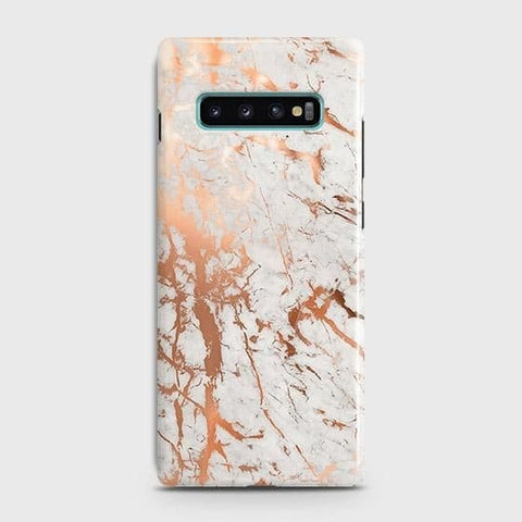 3D Print in Chic Rose Gold Chrome Style Case For Samsung Galaxy S10 Plus