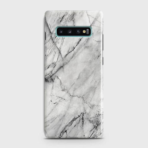 Trendy White Marble Case For Samsung Galaxy S10 Plus