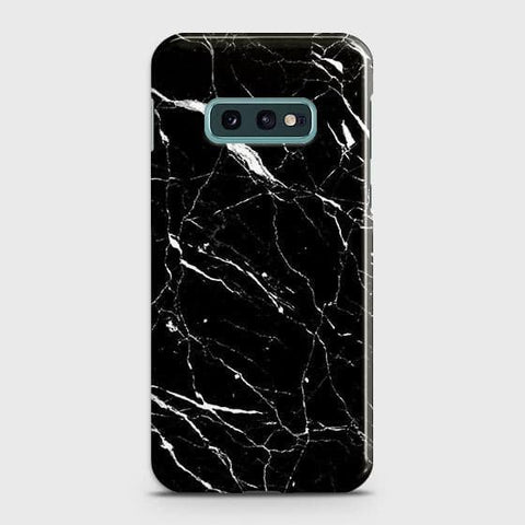 Trendy Black Marble Case For Samsung Galaxy S10e