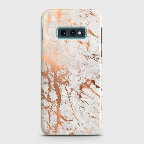 3D Print in Chic Rose Gold Chrome Style Case For Samsung Galaxy S10e
