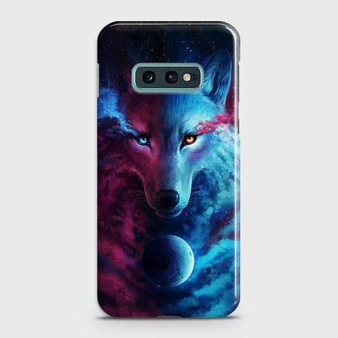 Infinity Wolf 3D Trendy Case For Samsung Galaxy S10e