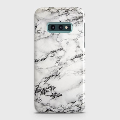 Trendy White Floor Marble Case For Samsung Galaxy S10e