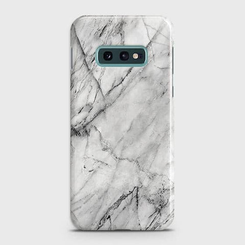 Trendy White Marble Case For Samsung Galaxy S10e