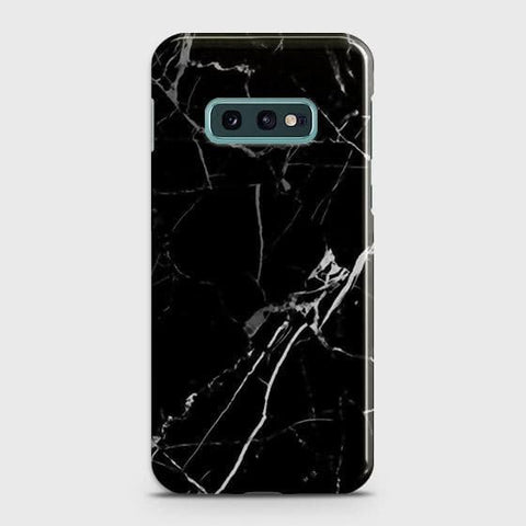 Black Modern Classic Marble Case For Samsung Galaxy S10e