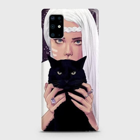 Trendy Wild Black Cat Case For Samsung Galaxy S20