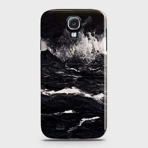 3D Black Ocean Marble Trendy Case For Samsung Galaxy S4
