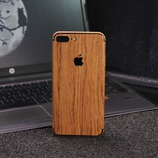 Wood Material Vinyl Phone Skin For Samsung Galaxy Note 4 - Sandal Wood