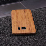 Wood Material Vinyl Phone Skin For Samsung Galaxy Note 9 - Sandal Wood