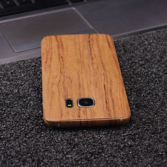 Wood Material Vinyl Phone Skin For Huawei P9 - Sandal Wood