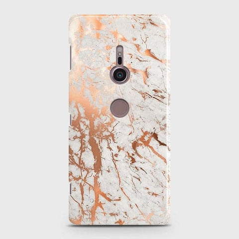 3D Print in Chic Rose Gold Chrome Style Case For Sony Xperia XZ3