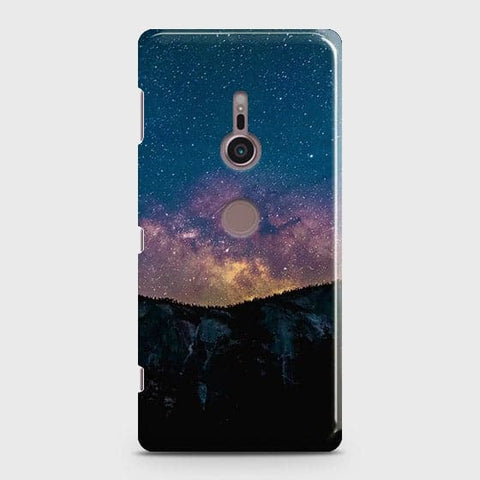Embrace, Dark Galaxy 3D Trendy Case For Sony Xperia XZ3