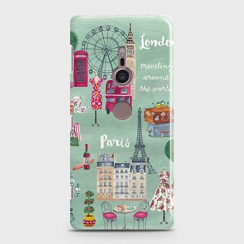 London, Paris, New York Modern Case For Sony Xperia XZ3