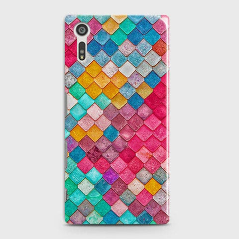Chic Colorful Mermaid 3D Case For Sony Xperia XZ