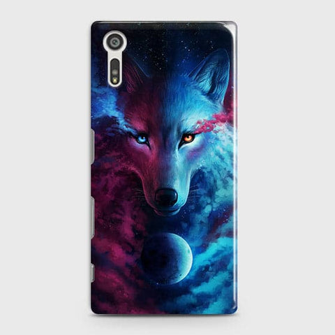 Infinity Wolf 3D Trendy Case For Sony Xperia XZ