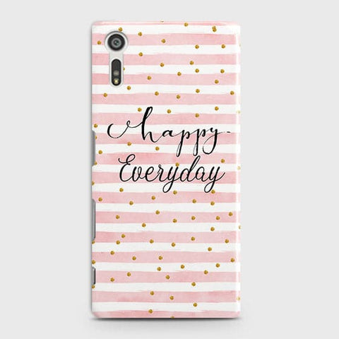 Trendy Happy Everyday Case For Sony Xperia XZ