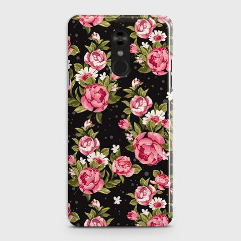 Trendy Pink Rose Vintage Flowers Case For LG Stylo 4