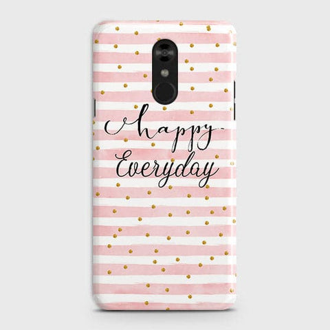 Trendy Happy Everyday Case For LG Stylo 4