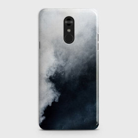 Trendy White Floor Marble Case For LG Stylo 4