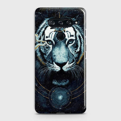 Vintage Galaxy 3D Tiger Case For LG V40 ThinQ