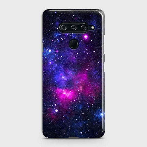 Dark Galaxy Stars Modern Case For LG V40 ThinQ