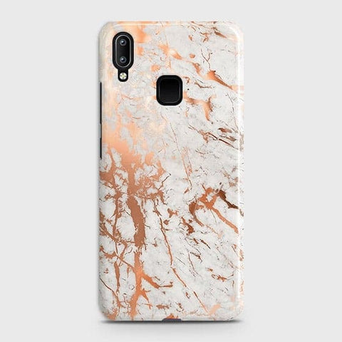 3D Print in Chic Rose Gold Chrome Style Case For Vivo Y95