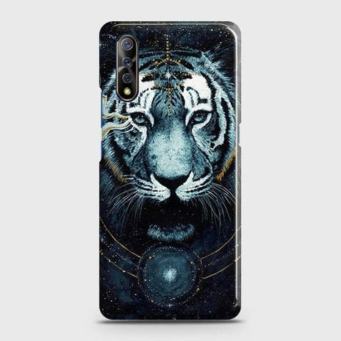 Vintage Galaxy 3D Tiger Case For Vivo S1