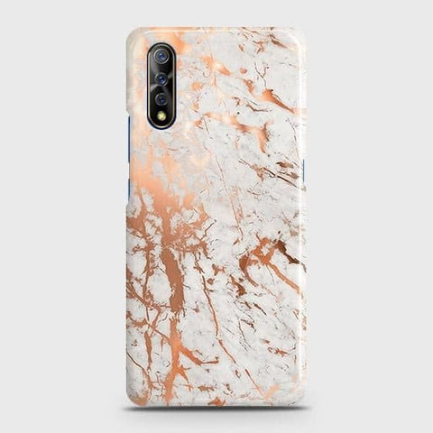 3D Print in Chic Rose Gold Chrome Style Case For Vivo S1