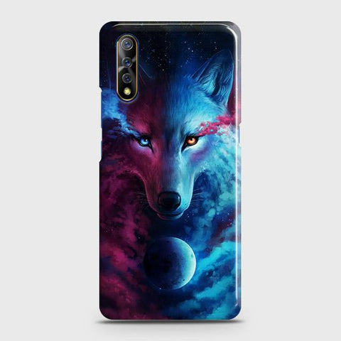 Infinity Wolf 3D Trendy Case For Vivo S1
