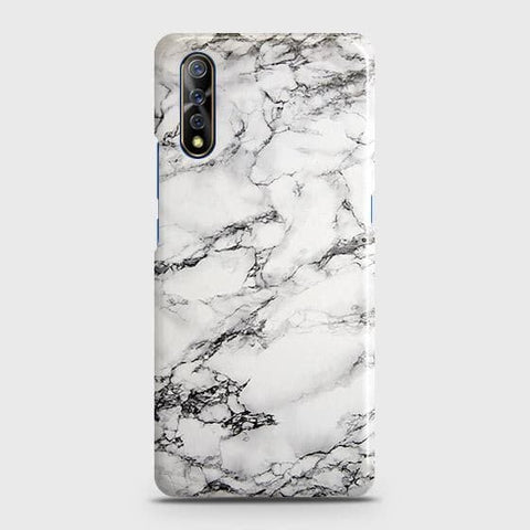 Trendy White Floor Marble Case For Vivo S1