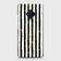 Trendy Black & White Strips With Golden Hearts Hard Case For Vivo S1 Pro