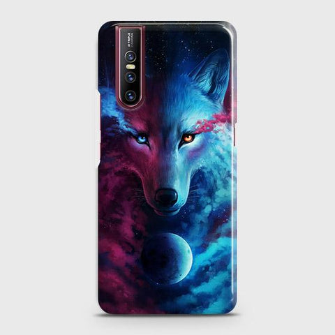 Vivo V15 Pro Cover - Infinity Wolf Trendy Printed Hard Case with Life Time Colors Guarantee