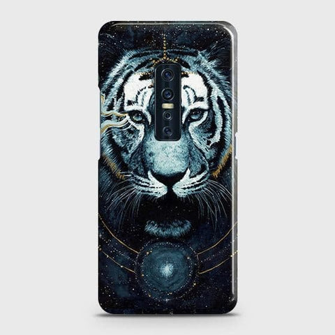 Vintage Galaxy 3D Tiger Snap On Case For Vivo V17 Pro