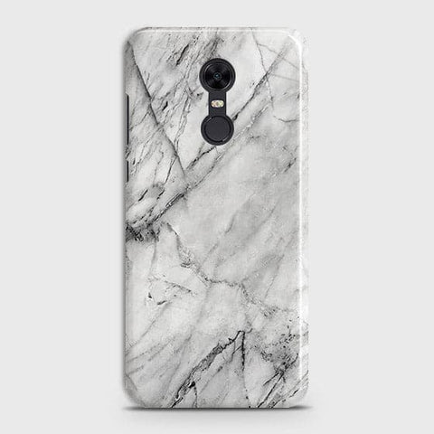 Trendy White Marble Case For Xiaomi Redmi 5