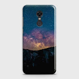 Xiaomi Redmi 5 Cover - Embrace Dark Galaxy  Trendy Printed Hard Case with Life Time Colors Guarantee