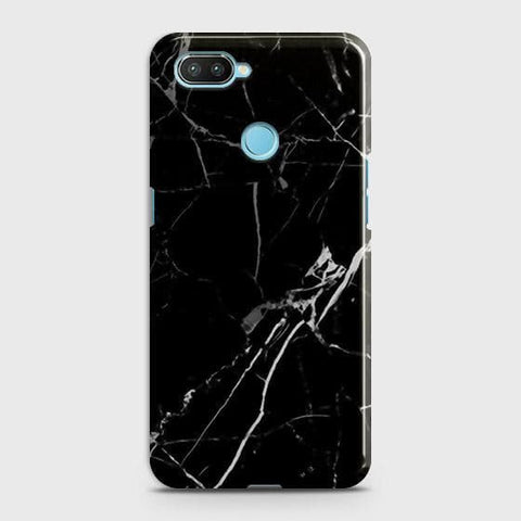 Black Modern Classic Marble Case For Xiaomi Mi 8 Lite