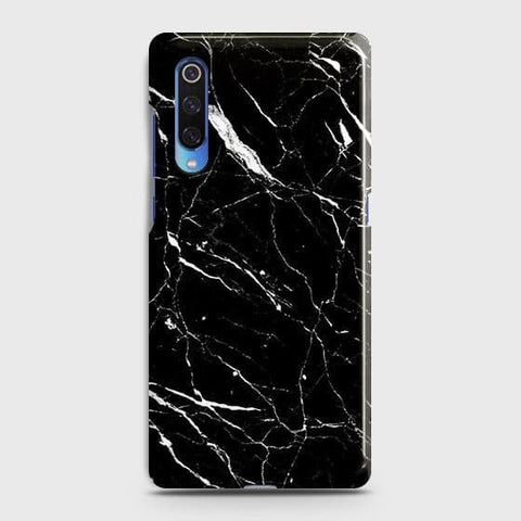 Trendy Black Marble Case For Xiaomi Mi 9