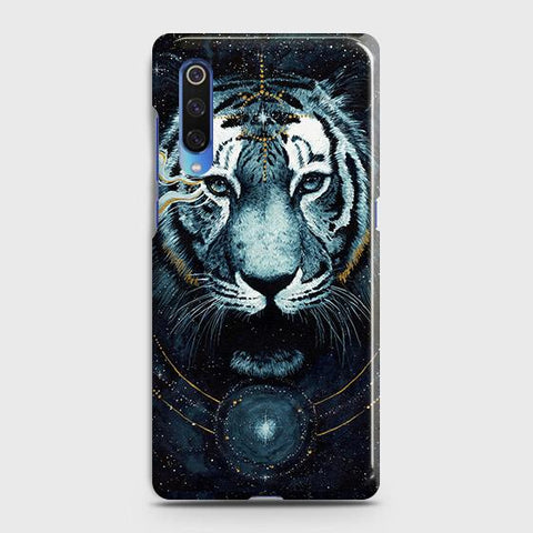Vintage Galaxy 3D Tiger Case For Xiaomi Mi 9
